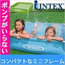 INTEX(インテックス) ミニ フレーム プール ベランダ 122cm 簡単設置mini frame pool キッズ 子供 こども用 プール  ビニールプール 子供用 ミニフレームプール