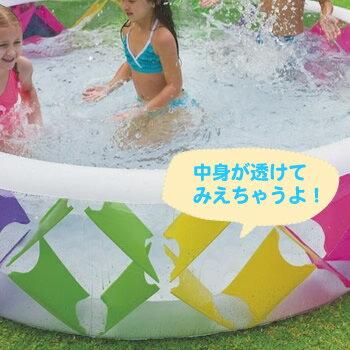 世界で愛されるプールメーカーINTEX/インテックスラウンジとしても使えるキッズプール屋外プールWINDMUHLEピンウィールプール