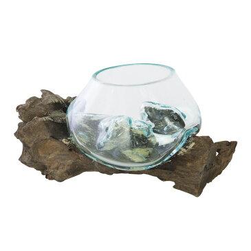 ガラスオブジェ Sakara サカラ 西海岸 送料無料 西海岸風 インテリア 家具 雑貨 【532P16Jul16】