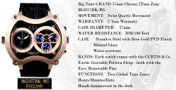 CURTIS&Co.新作カーティス時計ビッグタイム・グランド57mm【BigTimeGrand】SENSE4月号掲載プレミア腕時計(カーティス腕時計)海外セレブ・芸能人愛用腕時計新作カーティスビッグタイムグランドクレジット24回払いなら月々約15,000円!