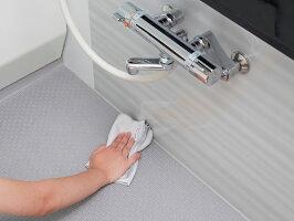 浴室用吸水&拭き上げクロス