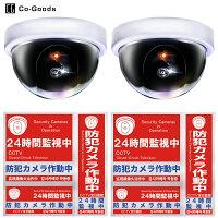 Co-goodsコーグッズダミー防犯カメラ30PR7ZZ0-1