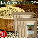 麻の実パウダー ヘンプパウダー ヘンププロテイン 500g 6袋 リトアニア産 植物性プロテインパウダー Hemp Protein Powder