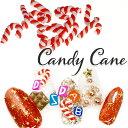 キャンディーケーン(2個) クリスマス ネイル キャンディ ...