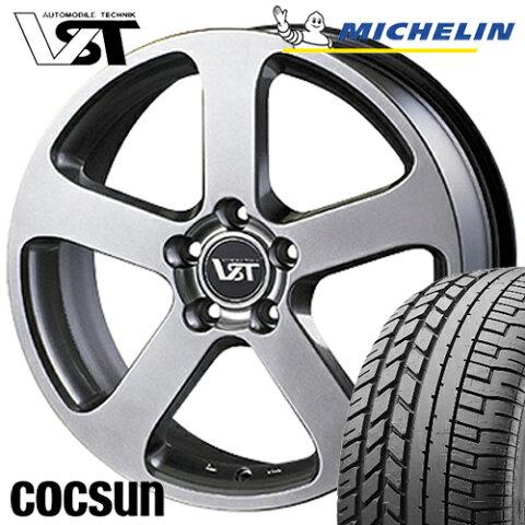ボルボ V60 S60 FB / FD 型 サマータイヤ・ホイールセット ミシュラン PS3 235/40R18 VST-RS 18インチ アルミホイール 4本セット