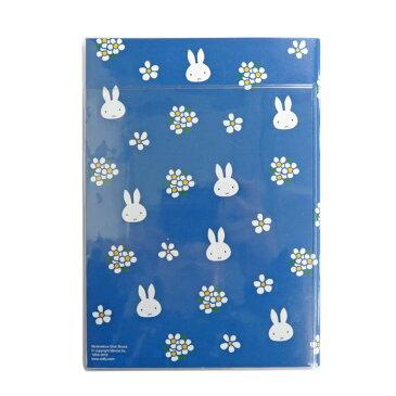 クツワ ミッフィー 家族 手帳 2019年 B6薄型 マンスリー 小花・ブルー MF483B (2018年 12月始まり)