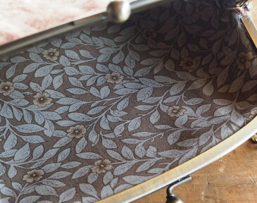 """poussette(プセット) がまぐちバッグ6.8寸 """"Wool loop −ウール ループ−"""" ミスティローズ [g68150004] 京都のがま口作家・小川大介さんのガマグチ ショルダーバッグ クラッチバッグ ポシェット 斜めがけ ハンドメイド 手作り 日本製 国産"""