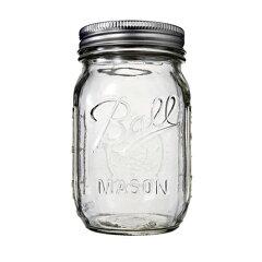 クラフトの保存に限らず、食品の保存にも使用できます!BALL Mason Jar メイソンジャー レギュ...