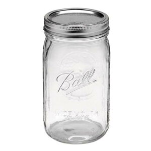クラフトの保存に限らず、食品の保存にも使用できます!BALL Mason Jar メイソンジャー ワイド...