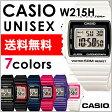 CASIO カシオ 腕時計チープカシオw215h デジタルメンズ レディース時計送料無料/一部地域除く【あす楽】
