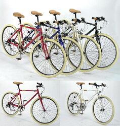 【Mypallas・マイパラスクロスバイク/自転車】【本州のみ送料無料※】マイパラスM-640クロスバイク26インチ/6段ギア4色【※沖縄・離島は配送できません。】【代引き不可】