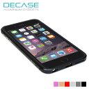 iPhone 6s Plus/iPhone 6 Plus 高精度アルミニウムバンパーケース DECASE for iPhone 6(s) Plu……