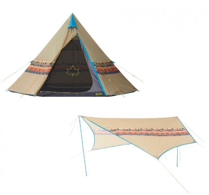 【レンタル】ナバホ フェス初心者セット【テント・タープのみ】2〜3名用