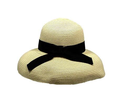 お顔をまあるく可愛く包む帽子。クラシカルラウンドハット・Mixブレード(帽子)(返品・交換・ギフト包装不可)