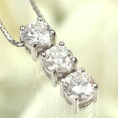 【天然ダイヤモンド】【送料無料!58%OFF】【ダイヤモンドペンダント】プラチナ・ダイヤモンド1...