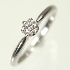 【婚約指輪特集】プラチナ・ダイヤモンド0.2ct(H・VS・GOOD・鑑定書付)エンゲージリング(指輪)