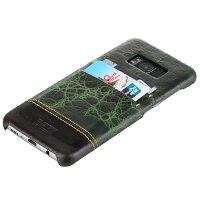 GalaxyS8レザー調背面保護カバーギャラクシーS8SC-02JSCV36背面カバーギャラクシーS8シンプルカッコイイ背面ケースカード収納カードポケットビジネスに最適!!!定番の背面保護ケース♪♪プレゼントにもおすすめ♪大人っぽいカード収納付き送料無料