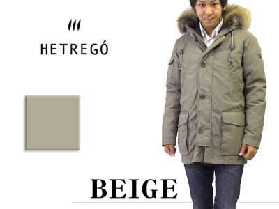 エトレゴ(HETREGO)ダウンジャケット