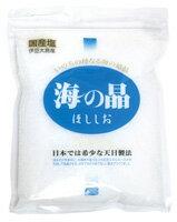 伊豆大島産海水100% 日本で最初の天日塩海の晶(しょう)・青ラベル1023max10