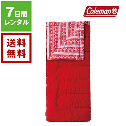 【レンタル】Coleman コールマン コージー C5 レッド 2000027267《7日間レンタル》往復送料無料 アウトドアレンタル シュラフレンタル