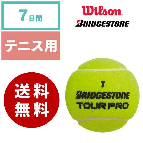 【レンタル】テニスボール 硬式用 ウィルソン(Willson )ブリヂストン(BRIDESTONE)《7日間レンタル》往復送料無料