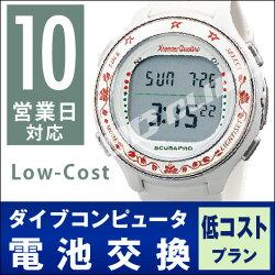 【Low-cost10営業日対応】ダイブコンピュータ電池交換+返送料無料※のセット価格!
