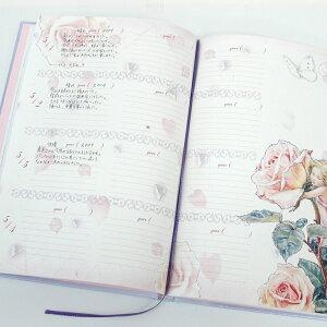 3年日記フラワーフェアリーズ名入れなし【楽ギフ_包装】【連用日記帳/ダイアリー】【ディアカーズ】