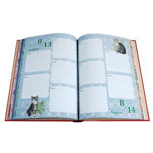 5年日記アイボリーキャッツ名入れなし【楽ギフ_包装】【連用日記帳/ダイアリー】【ディアカーズ】