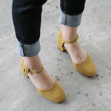サンダル レディースシューズ 太ヒール スエード チャンキーヒールヒール アンクルストラップ 黒 ブラック レッド ベージュ 靴 歩きやすい オープントゥセール品につき、返品・交換は一切受け付けておりません