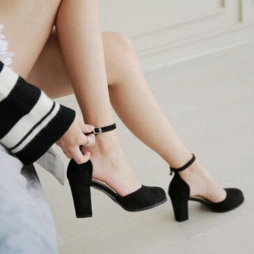パンプス アンクルストラップ ハイヒールヒール スエード 黒 ブラック ベージュ ラウンドトゥ レディース 靴 婦人靴 歩きやすい 痛くないセール品につき、返品・交換は一切受け付けておりません