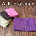 イタリア・A.F.Florence(A.F.フローレンス)/ メッシュレザー カードケース