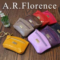 A.R.Florence(A.R.フローレンス)/カラーリザードコイン&キーケース(ラウンド)