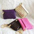 イタリア・A.F.Florence(A.F.フローレンス)/ メッシュレザー コイン&キーケース