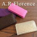 イタリア・A.F.Florence(A.F.フローレンス)/ メッシュレザー 長財布