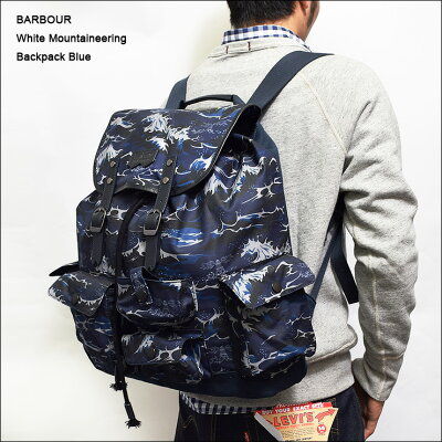 BARBOUR×White Mountaineering(バブアー×ホワイトマウンテニアリング)【UBA0348BL511】BACKPA...