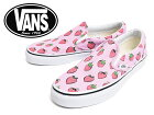 VANSLADIES�Х󥺥�ǥ�������VN-03Z4IJS��CLASSICSLIP-ON(Strawberries)PastelLavender/TrueWhite�Х󥺥�ǥ��������饷�å�����åݥ�2016/�տ����ǥ��������ˡ�����