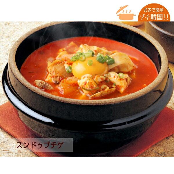 韓国万能調味料/スンドゥブチゲのタレ(200g)[ミニレシピ付き!]【でりかおんどる】