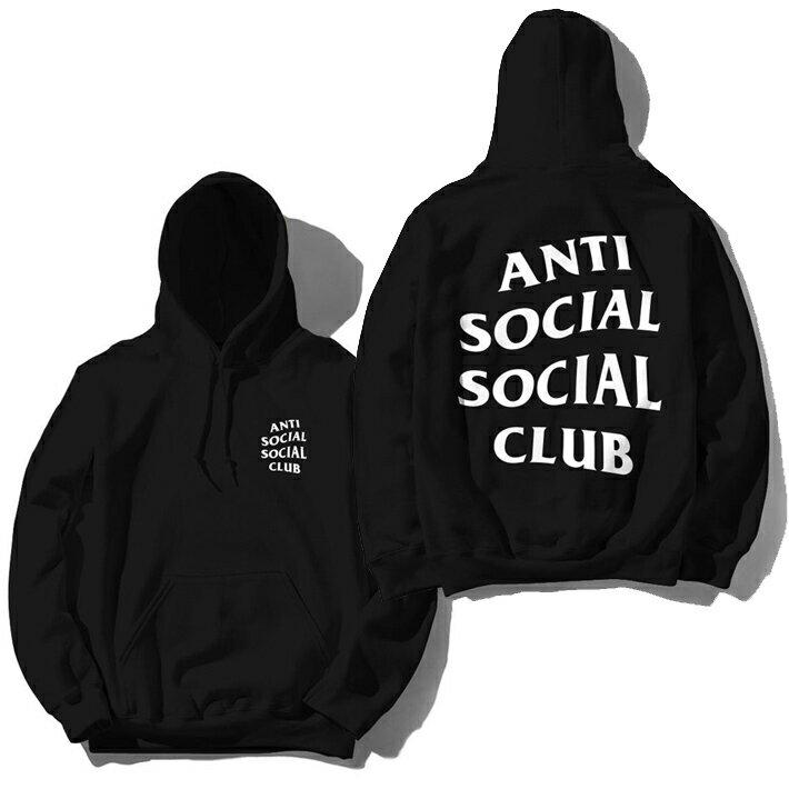 トップス, パーカー P10 ANTI SOCIAL SOCIAL CLUB ORIGINAL LOGO HOODIE ASSC PULLOVER