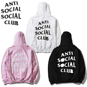 【エントリーで更にポイント5倍/合計10倍】アンチソーシャルソーシャルクラブ パーカー フーディー スウェット ANTI SOCIAL SOCIAL CLUB ORIGINAL LOGO HOODIE メンズ MEN レディース UNISEX ユニセックス