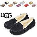 UGGモカシンアグAnsleyアンスレーレディースファーシューズローファームートンスリッポン靴STYLE#3312【西日本】