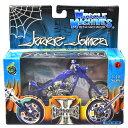 MUSCLE MACHINES - WESTCOAST CHOPPERS 1:18SCALE JESSE JAMES CFL - RIGID(MATTE BLUE)MOTORCYCLE マッスルマシンズ - ウエストコースト・チョッパーズ 1:18スケール ジェシー・ジェームス「CFL - リジッド」(マットブルー) バイク