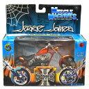 MUSCLE MACHINES - WESTCOAST CHOPPERS 1:18SCALE JESSE JAMES EL DIABLO - RIGID(CANDY ORANGE)MOTORCYCLE マッスルマシンズ - ウエストコースト・チョッパーズ 1:18スケール ジェシー・ジェームス「エルディアブロ リジッド」(キャンディオレンジ) バイク