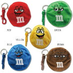 m&m'sエムアンドエムズCOINCASEコインケースRED,GREEN,YELLOW,BLUE,BROWN
