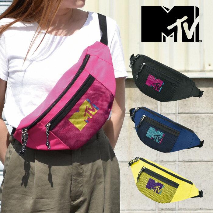男女兼用バッグ, ボディバッグ・ウエストポーチ MTV PV MUSIC Television MTV-017