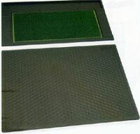 Vセット-S(グリーンマット+スタンスマット)ブラック