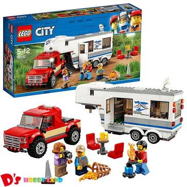 レゴ (LEGO) シティ キャンプバンとピックアップトラック 60182 5才から