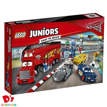 レゴ (LEGO) ジュニア ディズニー カーズ フロリダ 500 ファイナル・レース 10745 5才から
