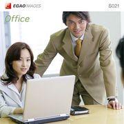 EGAOIMAGES S021 ビジネス「オフィスワーク」