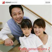 EGAOIMAGES S029 ファミリー「三世代家族2」