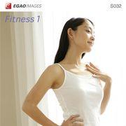 EGAOIMAGES S032 若い女性「フィットネス1」